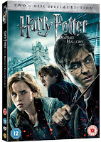 DVD & Blu-ray UK covers HP Deathly Hallows part 1