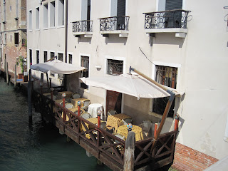 Terraza en Venecia