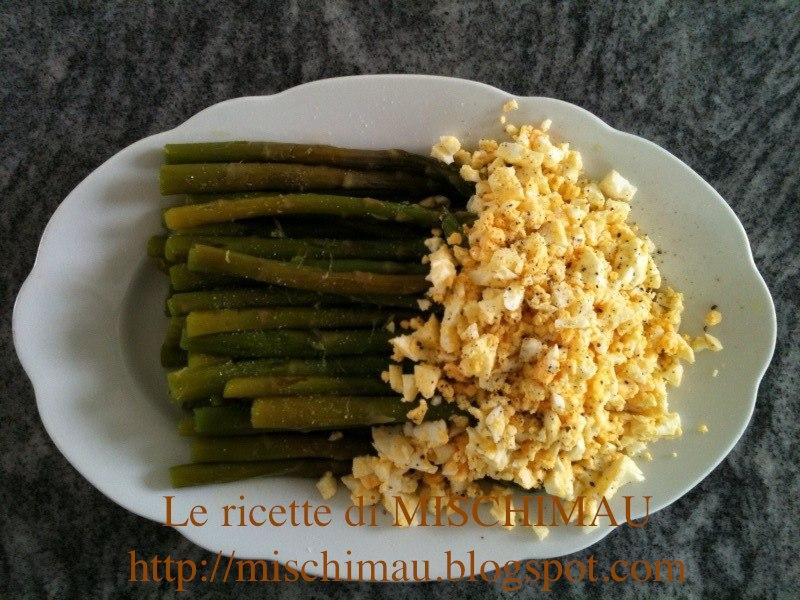Le ricette di mischimau asparagi con uova sode for Cucinare asparagi