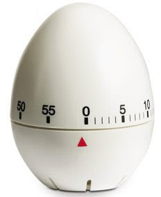 Kitchen Timer Rotating - Egg Shape
