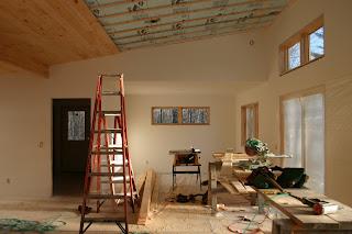 Modern Cabin Interior Finish