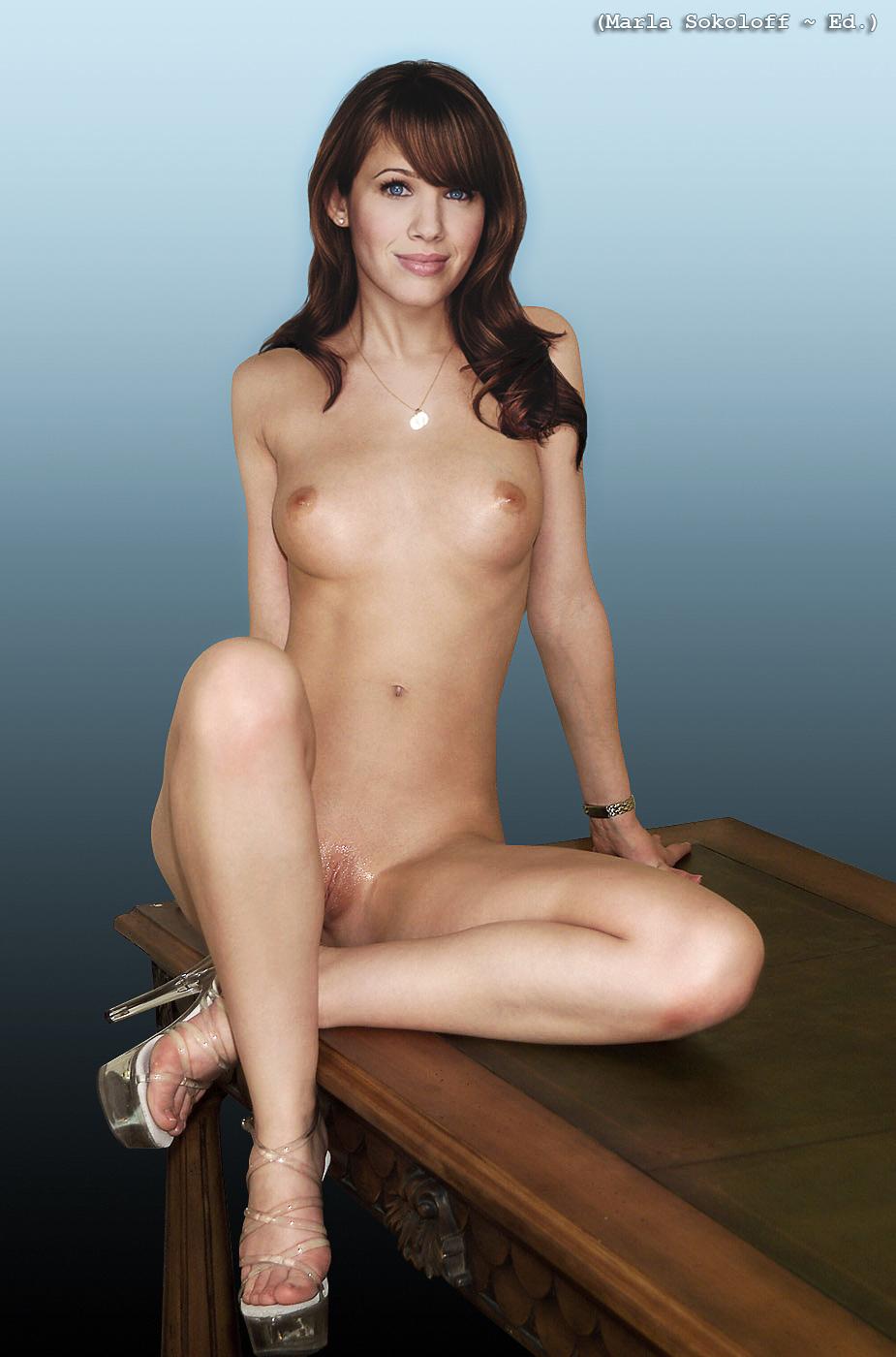 Marla sokoloff naked