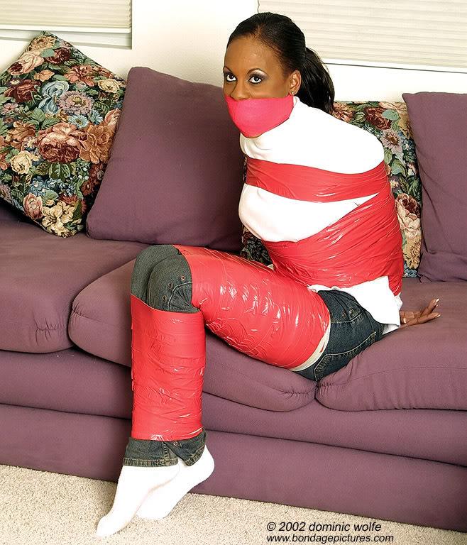 Hotties in bondage socks
