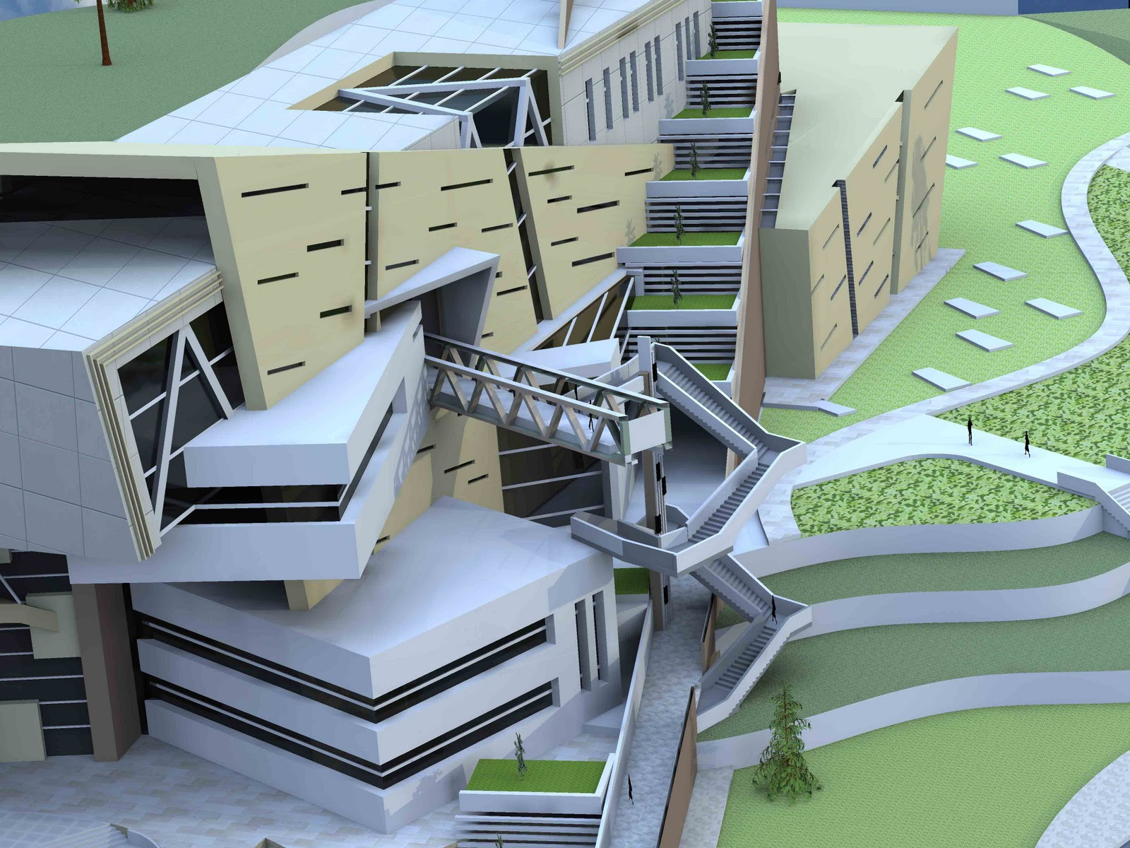Architectural design projects - College of design construction and planning ...
