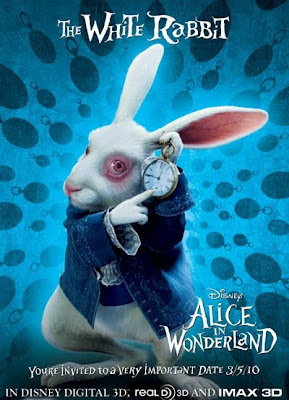 White Rabbit - Alice in Wonderland