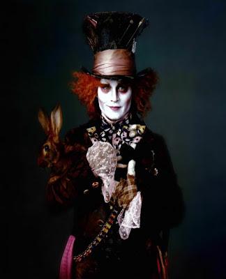 Johnny Depp es el Sombrerero Loco
