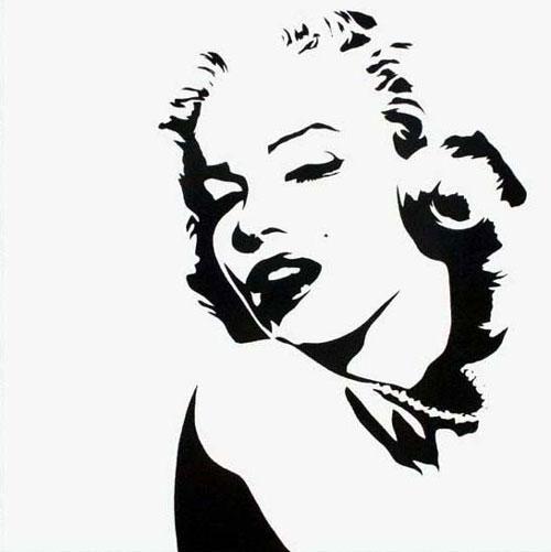 pop art canvas canvas pop art marilyn monroe modern. Black Bedroom Furniture Sets. Home Design Ideas