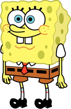 Will Polter is Spongebob