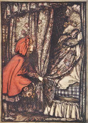 Fairy Tales of the Brothers Grimm.  Arthur Rackham, illustrator.