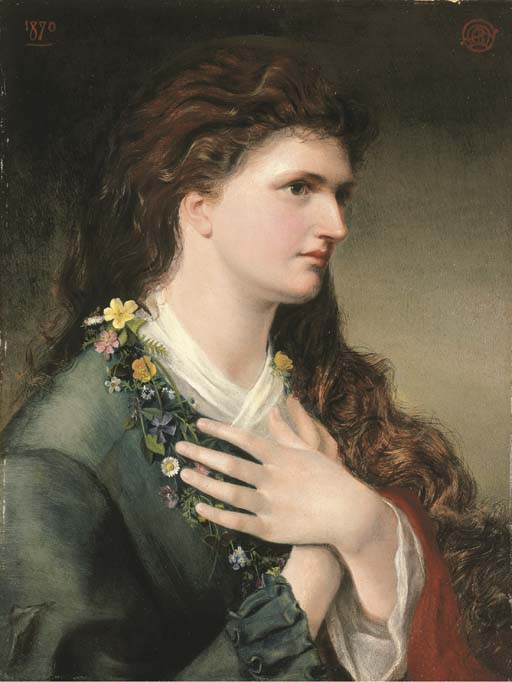 Pre Raphaelite Art: Emma Sandys