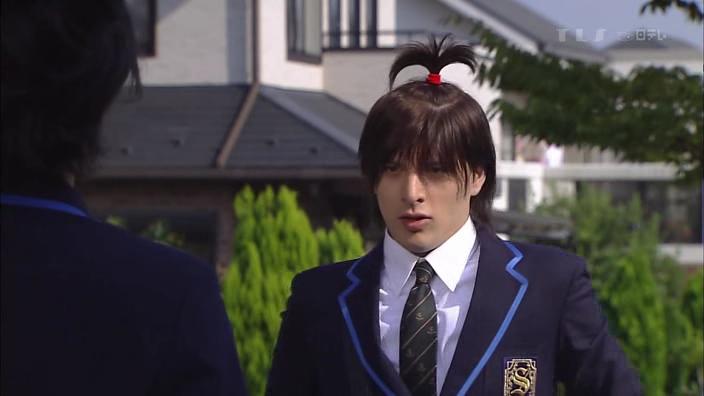Samurai high school japanese drama episode 1 - Spiderman ironman