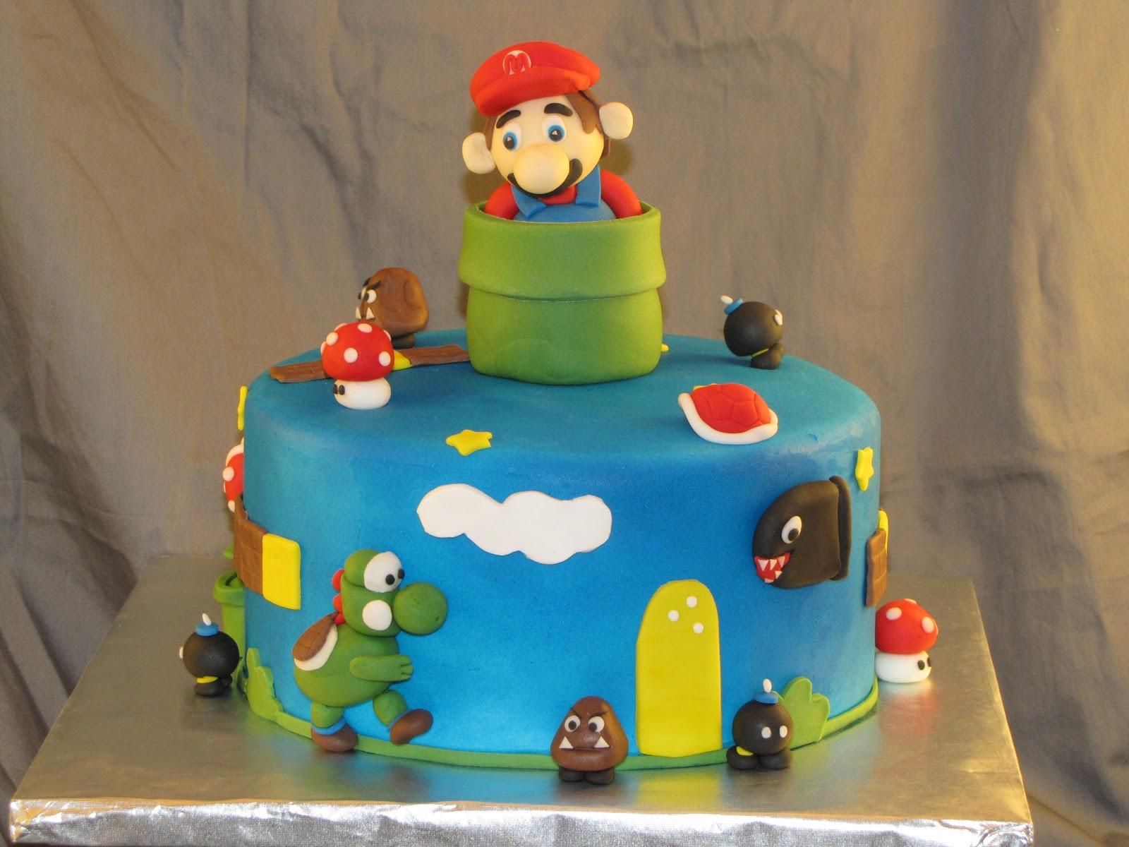 How To Make Super Mario Cake Decorations