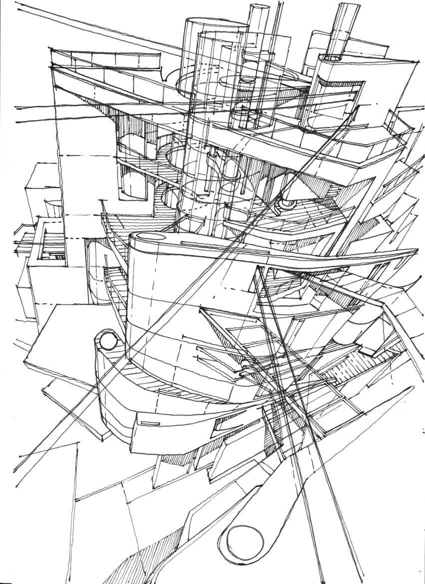 the architecture draftsman: AIR CITY, 1
