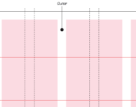 Carrer Blog O Rule Golden Proportion For Calculating The Gutter In The Grid