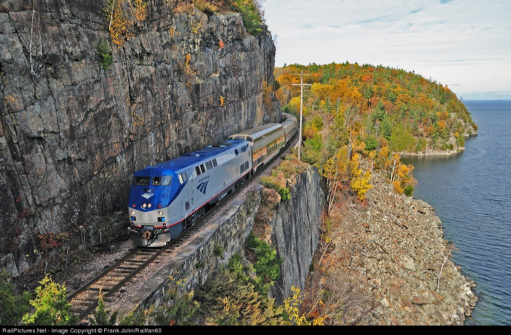 New York and Vermont to Montreal Bike Tour, Amtrak