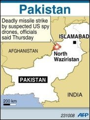 US air force attack in pakistan soil