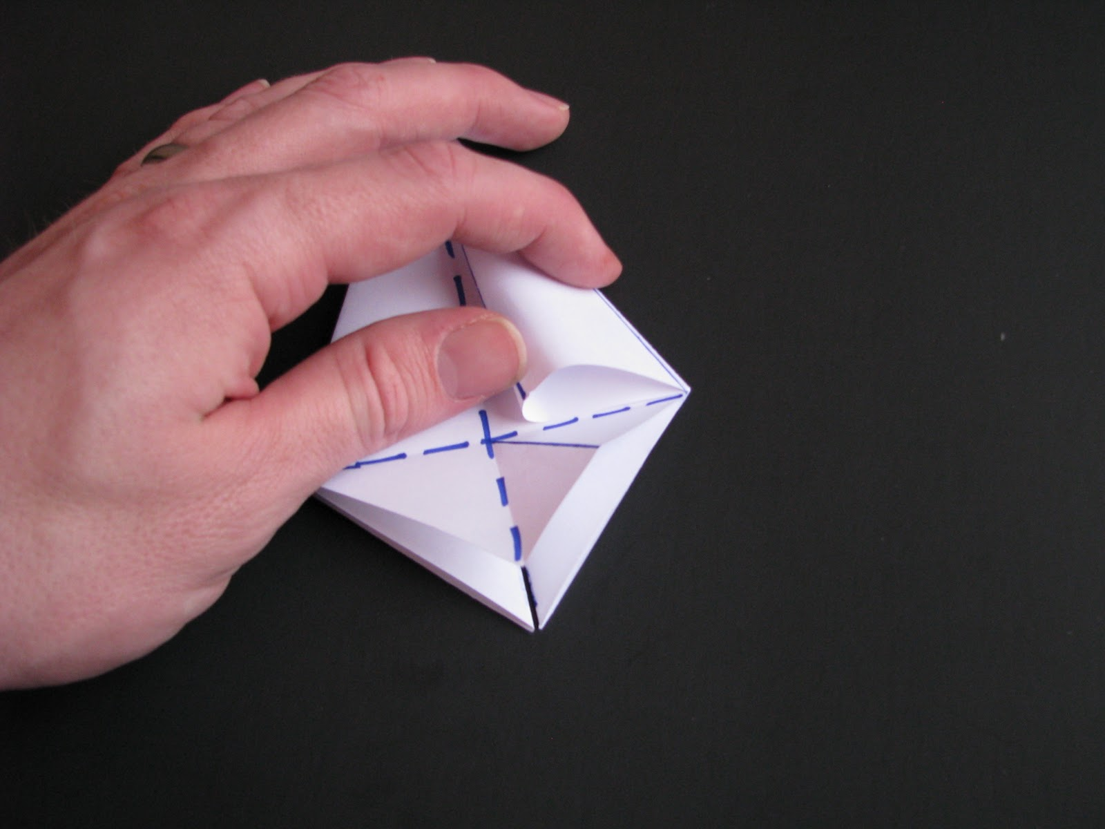 Origami Tutorial : 5 Pointed Star Box | Origami Useful Items Easy ... | 1200x1600