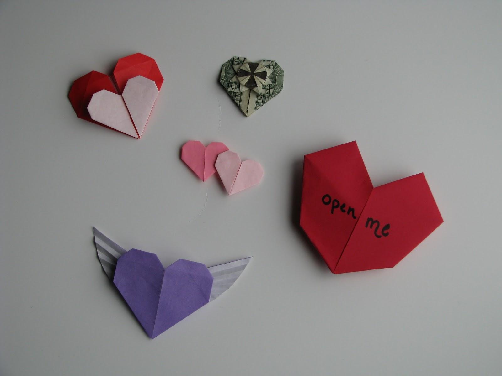 Origami Heart Christmas Origami Videos