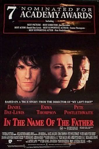 the name of the father essay In the name of the father 1 jim sheridan linda rubens (thanks to chris wells) 2 learning outcomesby the time you have completed this unit, you shouldbe able to: analyse film image and.