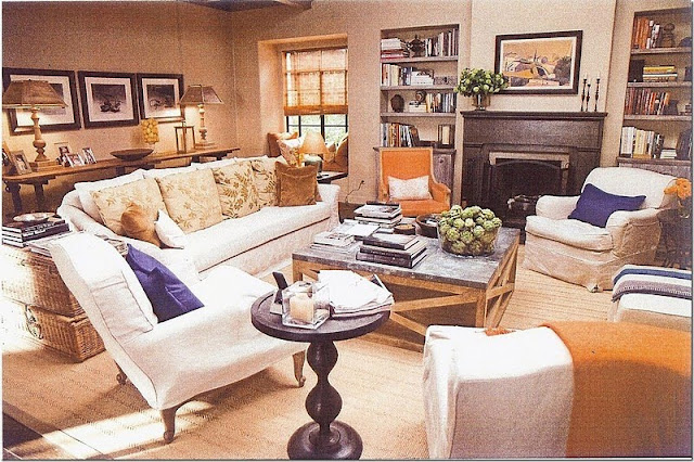 image result for It's Complicated movie Meryl Streep in farmhouse cottage living room
