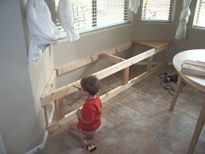 Diy Window Seat With Hidden Storage
