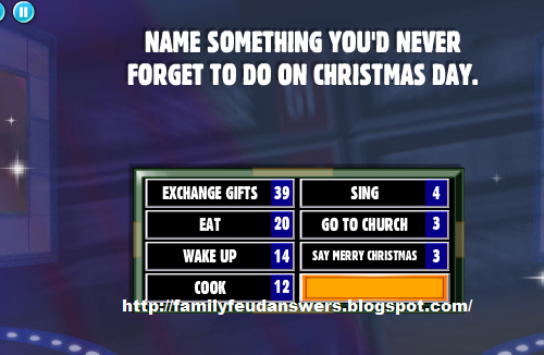 facebook family feud answers