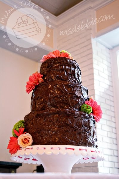 chocolate ganache wedding cakes pictures cake walk chocolate ganache wedding cake 12717