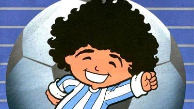 ColorScreen - Conteúdo diferenciado em Nostalgia e Cultura Pop!: Especial Copa 2010: Maradona na Turma da Mônica!