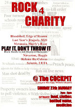 Rock for Charity poster