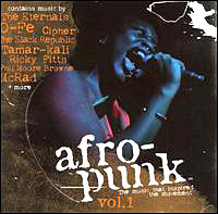 Cover of Afro-Punk compilation CD