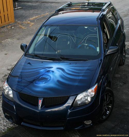 art in airbrush the vampire head design airbrush