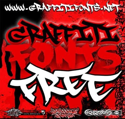 picture graffiti  Tulisan Happy Birthday Graffiti 3d