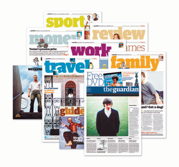Guardian weekend saturday guardian news paper supplements