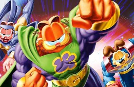 Eventos Culturais Comentarios Garfield Desenho 3d