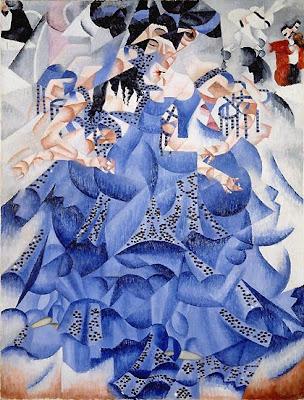 Gino Severini: Blue Dancer