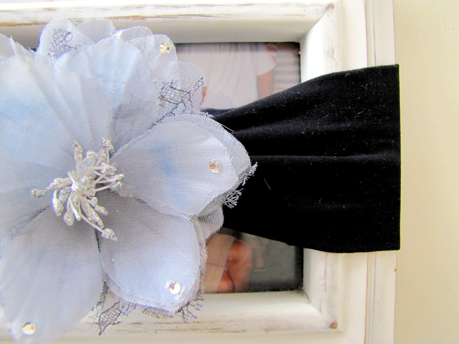 Pantyhose Baby Headband 4