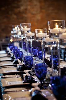 Sapphire Blue Wedding Dress