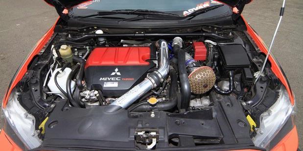 MODIFIKASI Mitsubishi Lancer Evo X