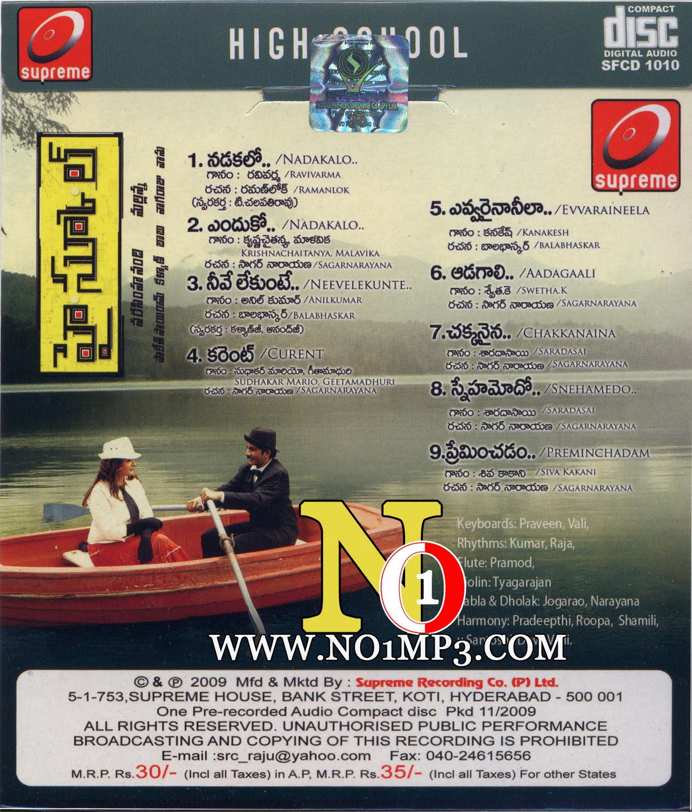 Avatar 2 Full Movie In Telugu: High School (2009) 128&320 Kbps Mp3 Telugu Movie Audio Mp3
