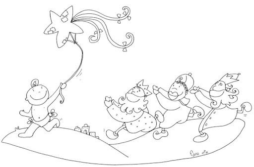 Para Colorear Colorea Dibujos De Fano De Navidad