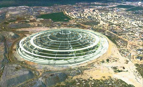 Solar Knowledge Old Russian Mining Pit To Be Domed Solar City
