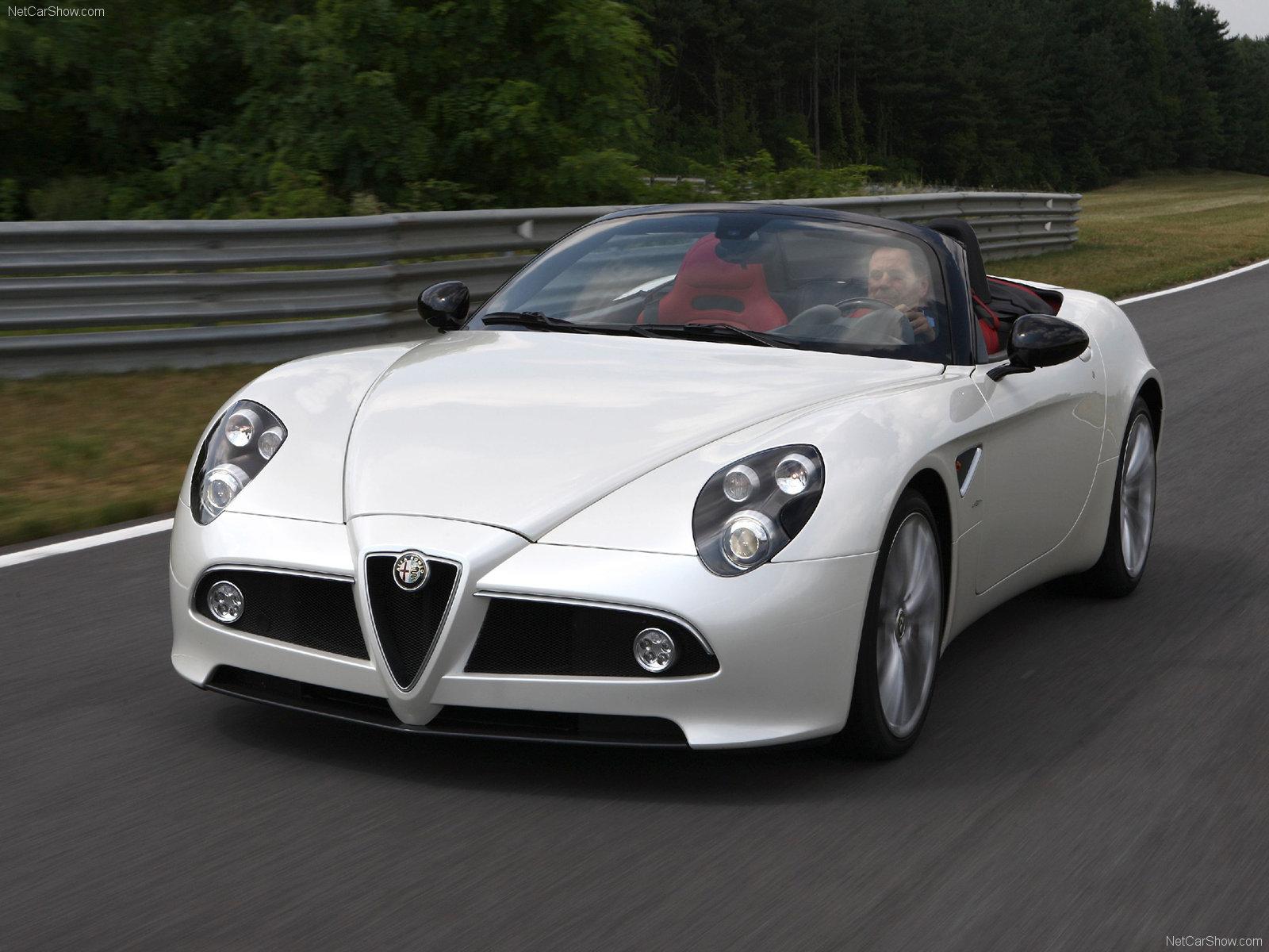 Cars Library: Alfa Romeo 8C Spider