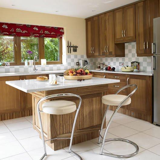 Walnut Kitchen Designs: Luxury Home Interior Design: Walnut Kitchen Design Home