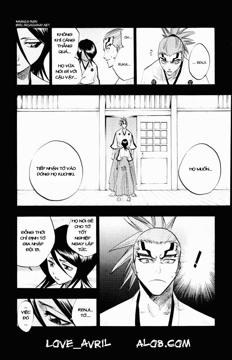 Bleach chapter 98 trang 14