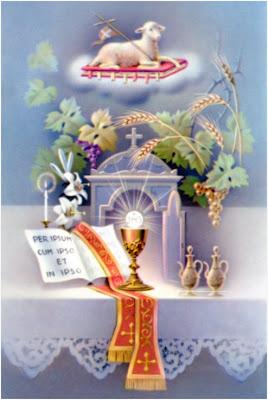 Resultado de imagen para sagrada eucaristia