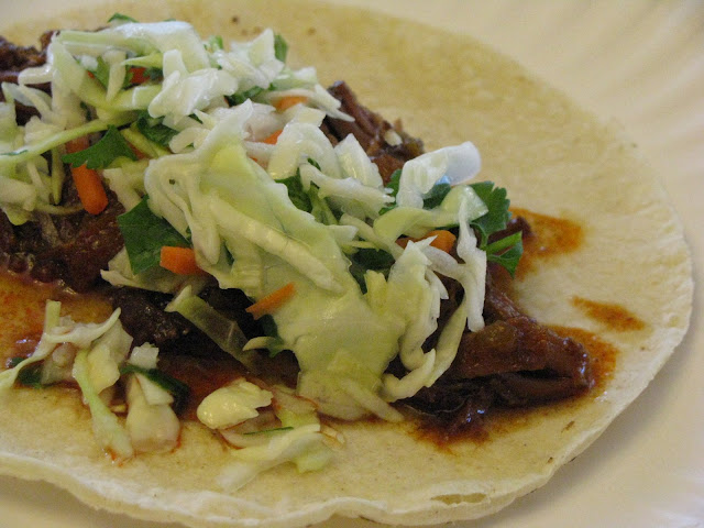 Becoming Betty: Shredded beef tacos