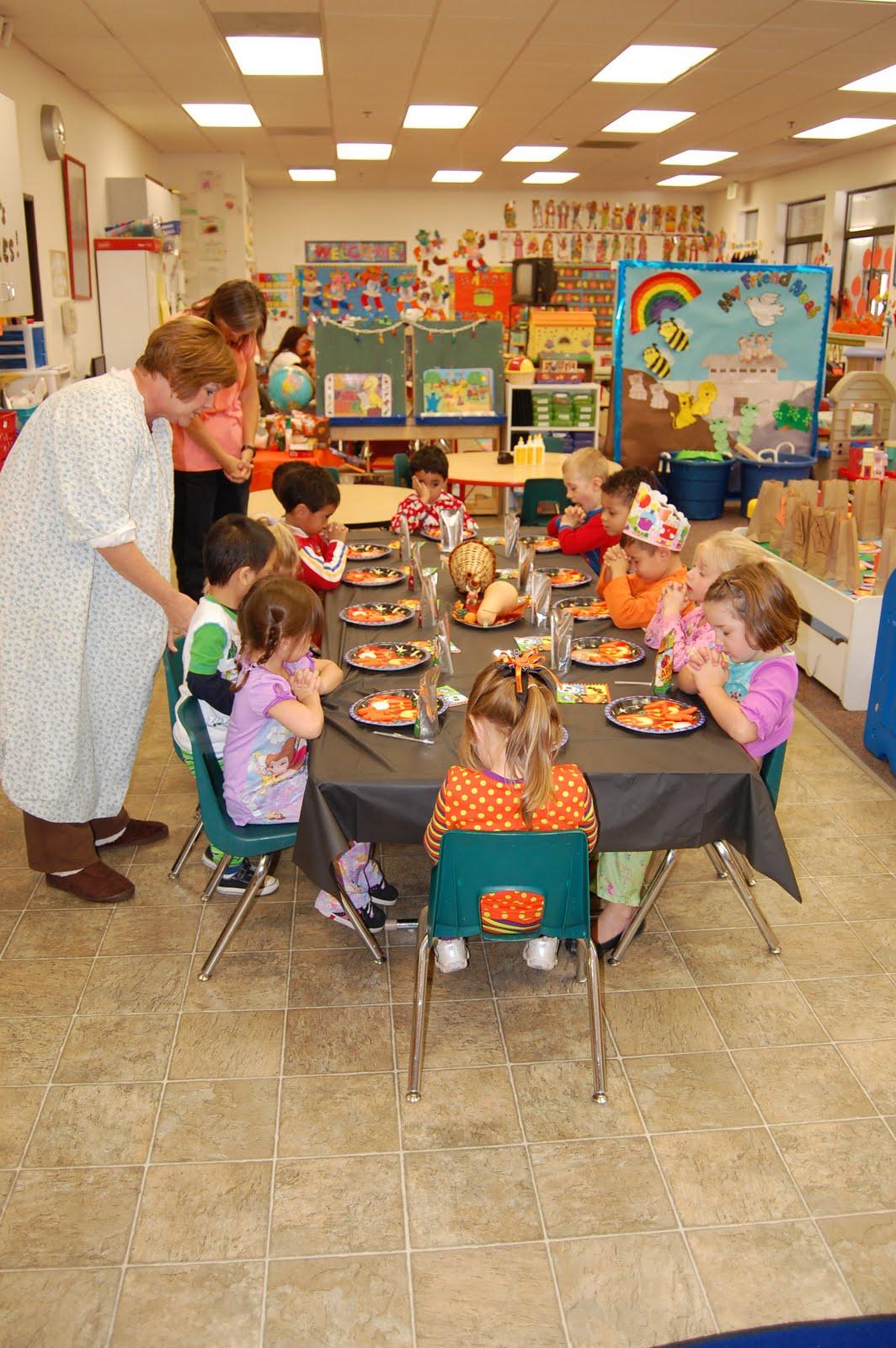 The Williams Family Preschool Pajama Day And Fall Festival