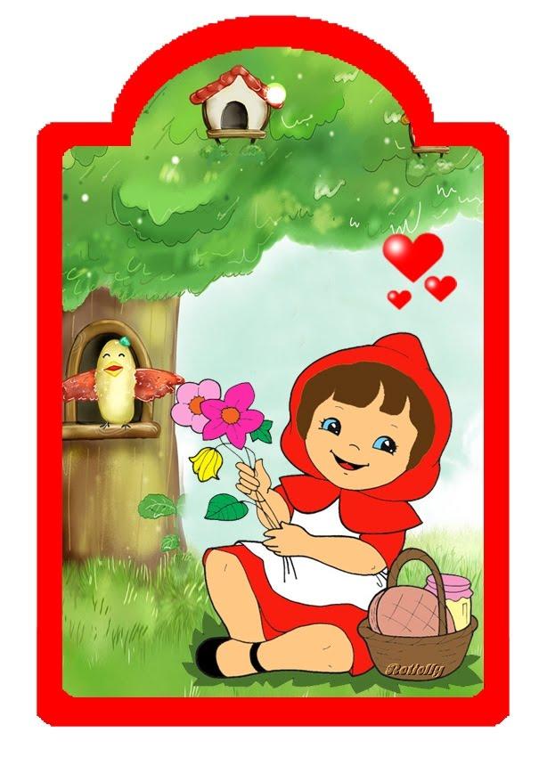 Chapeuzinho Vermelho Para Colorir Desenhos