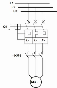 Dol Starter Wiring Diagram on wiring diagram for a star delta motor