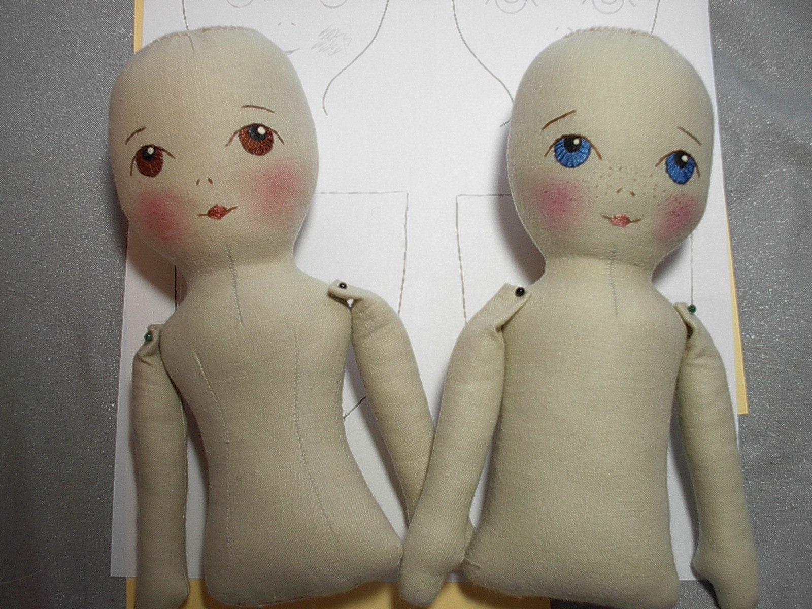 By Hook, By Hand: Prairie Flowers, an original cloth doll